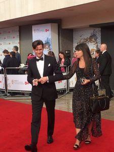 BAFTA 2017 Roter Teppich Matt Smith auf dem Roten Teppich