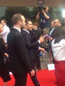 Ed Westwick BAFTA Awards 2017 auf dem Roten Teppich