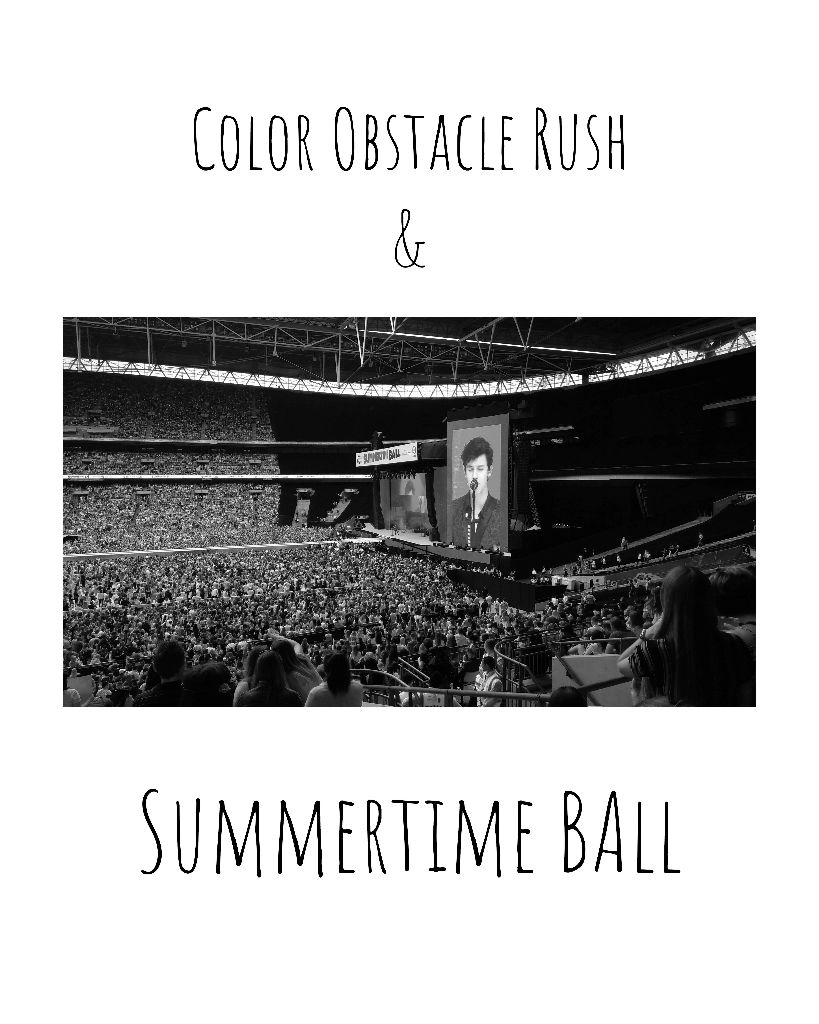 Color Obstacle Rush & Summertime Ball