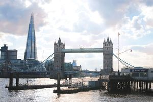 Au Pair in London, Tower Bridge und Shard