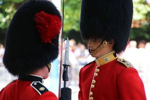 Trooping the Colour Queen´s Guards Officer