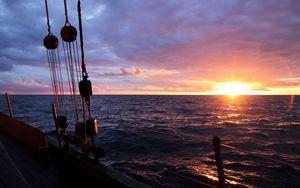 Whydah of Bristol - Sonnenuntergang auf der Ostsee