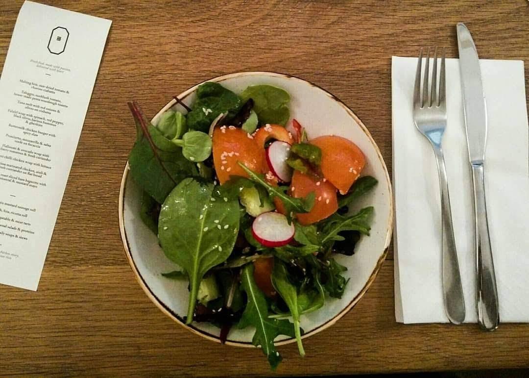 Grüner Salat vegetarisch